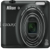 Nikon 16 MP Coolpix S6400 Digital Camera Black