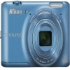 Nikon 16 MP Coolpix S6400 Digital Camera Blue