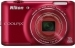 Nikon 16 MP Coolpix S6400 Digital Camera Red