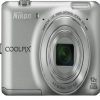 Nikon 16 MP Coolpix S6400 Digital Camera Silver