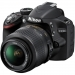 Nikon D3200 Black Digital SLR Camera With 18-55mm VR Lens