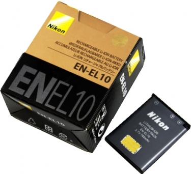 Nikon EN-EL10 Battery for Selected Coolpix Cameras