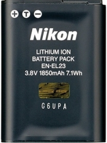 Nikon EN-EL23 Rechargeable Lithium-ion Battery
