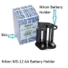 Nikon MS-12 AA Battery Holder For F100 Camera