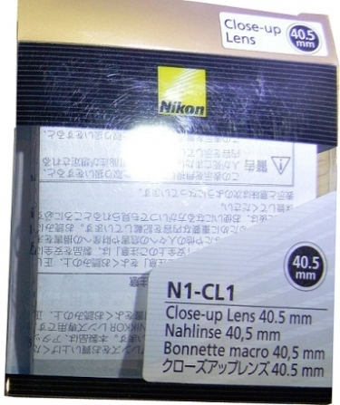 Nikon 40.5mm N1-CL1 Close-up Lens