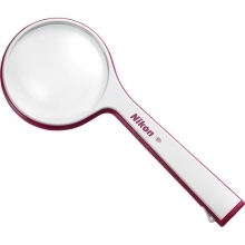 Nikon S1-8D 2x Round Reading Magnifier Red
