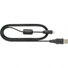 Nikon UC-E21 USB Type-A Male to Type-B Micro Male Cable (Black)