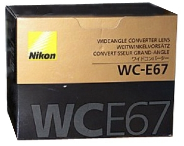 Nikon WC-E67 WCE67 0.67x Wide Angle Lens for Coolpix P5000