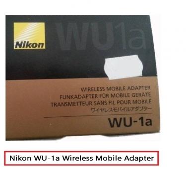 nikon wu 1a wireless mobile adapter instructions
