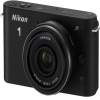 Nikon 1 J1 Black Digital Camera with 10mm Lens