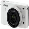 Nikon 1 J1 White Digital Camera with 10mm Lens