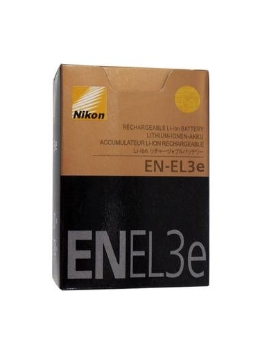 Nikon EN-EL3e ENEL3e Rechargeable Li-ion Battery