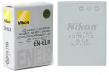 Nikon EN-EL8 Rechargeable Battery for Coolpix S1 Digital