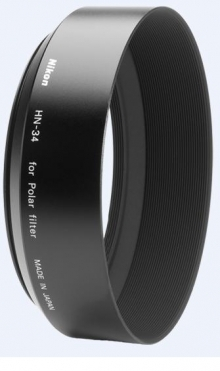 Nikon HN-34 Lens Hood (Screw-In) for 77mm Circular Polarising Filter
