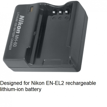 Nikon MH-60 Battery Charger for EL2 Lith-ion Battery