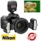 Nikon R1C1 Close Up Speedlight Flash with Commander SU-800 Kit