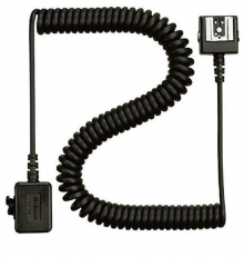 Nikon SC-28 SC28 Dedicated 3' TTL Coiled Sync Cord with ISO Shoe