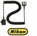 Nikon SC-28 Dedicated 3 feet TTL Coiled Sync Cord with ISO Shoe