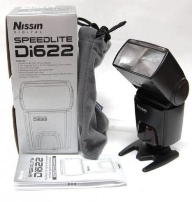 Nissin Di622 Digital Flash for Nikon iTTL Camera