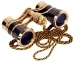 Opera Glasses 3x25 LaScala Optics Carmen Binoculars Black Gold