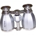 LaScala Optics Hamlet Opera Glass 4x30 Platinum & Silver