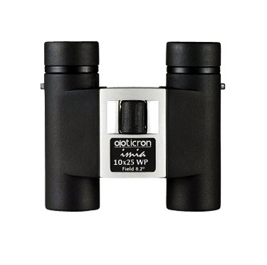 Opticron Imia 10x25 WP Roof Prism Binoculars Black and Gunmetal