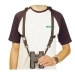 Opticron Harness - Leather and Nylon 25mm Black with Quick Release