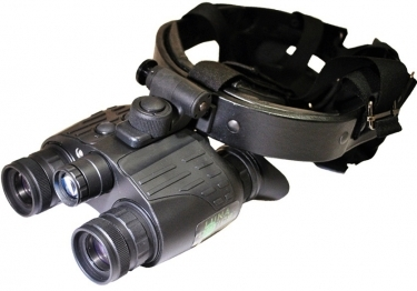 Luna Optics LN-PBG1 Pro Night Vision Bino Goggles With Head Mask