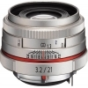 Pentax HD DA 21mm F3.2 AL Limited Lens (Silver)