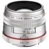 Pentax HD DA 35mm F2.8 Macro Limited Lens (Silver)