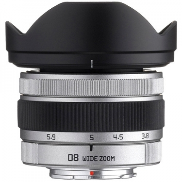 Pentax 3.8-5.9mm F3.7-4 Q 08 Wide Zoom Lens