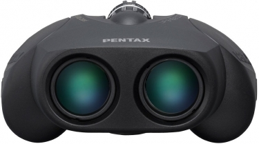 Pentax Up 8-16x21 Porro Prism Zoom Binoculars Black