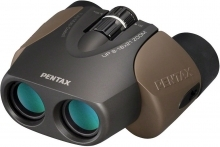 Pentax Up 8-16x21 Porro Prism Zoom Binoculars Brown