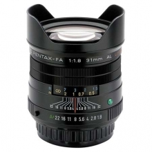 Pentax Wide Angle SMCP-FA 31mm F1.8 AL Limited AF Lens (Black)