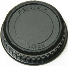 Genuine Pentax Rear Lens Cap for Bayonet K Mount Pentax Lenses