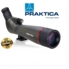 Praktica Alder 20-60x77mm Spotting Scope Angled Brown