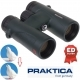 Praktica 8x42mm Marquis ED Waterproof Binoculars - Green