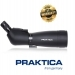 Praktica Hydan 20-60x77mm Waterproof Angled Spotting Scope Black