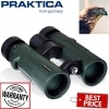 Praktica Pioneer 10x42mm Waterproof Binoculars Green