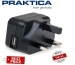 Praktica USB UK Power Adapter