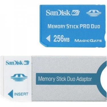 Sandisk 256MB Memory Stick PRO Duo