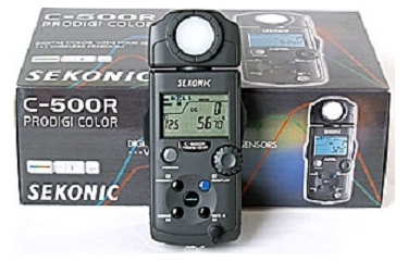 Sekonic Prodigi Colour C-500R Meter With Wireless Triggering Module