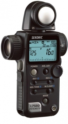 Sekonic L-758D DigitalMaster Programmable Digital Exposure Meter