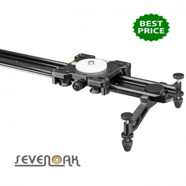 Sevenoak SKLS120B Heavy Duty Black Coated Compact Camera Slider 120cm
