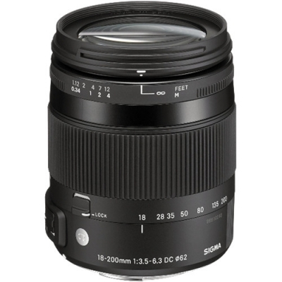 Sigma 18-200mm F3.5-6.3 DC Macro OS HSM Lens For Canon