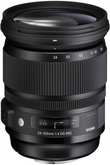Sigma 24-105mm F4 DG OS HSM Art Lens For Sony DSLR Cameras