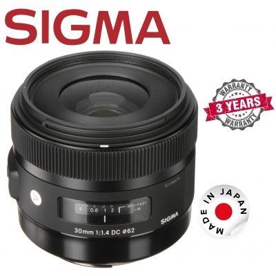 Sigma 30mm F1.4 DC HSM Lens For Canon