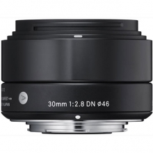 Sigma 30mm F2.8 DN Lens For Micro Four Thirds Cameras - Black