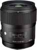 Sigma 35mm F1.4 DG HSM Art Lens For Sigma DSLR Cameras