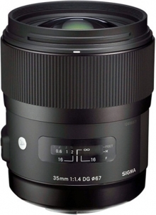Sigma 35mm F1.4 DG HSM Art Lens For Sony DSLR Cameras